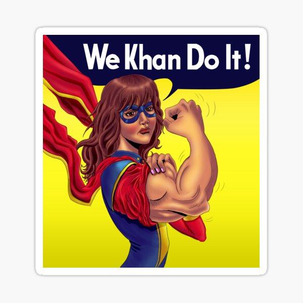 We Khan Do It Sticker