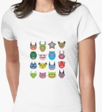 Monster set Women's Fitted T-Shirt