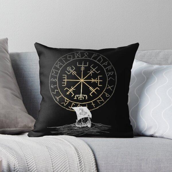 Drakkar navigation Throw Pillow