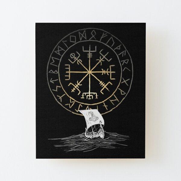 Drakkar navigation Wood Mounted Print