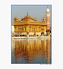 Golden Temple 2 Photographic Print