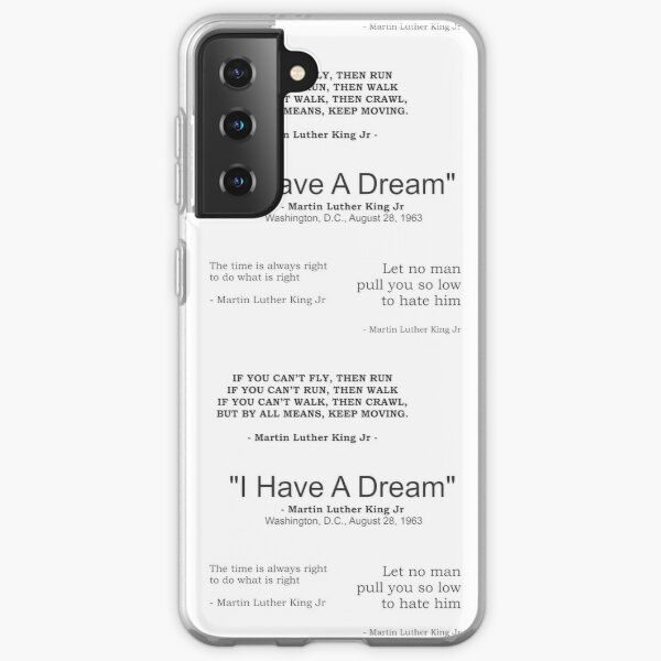 quotes by martin luther king jr sticker pack Samsung Galaxy Soft Case
