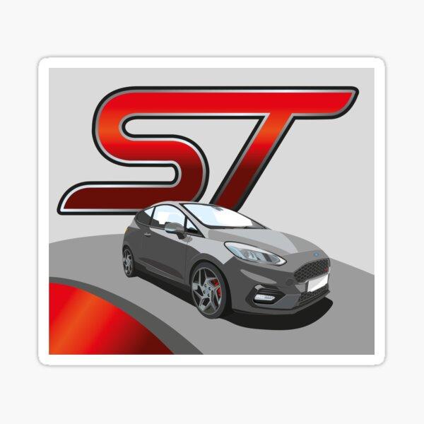 Ford Fiesta ST Sticker