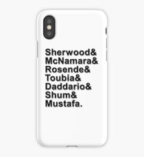 Shadowhunters Cast Names iPhone Case