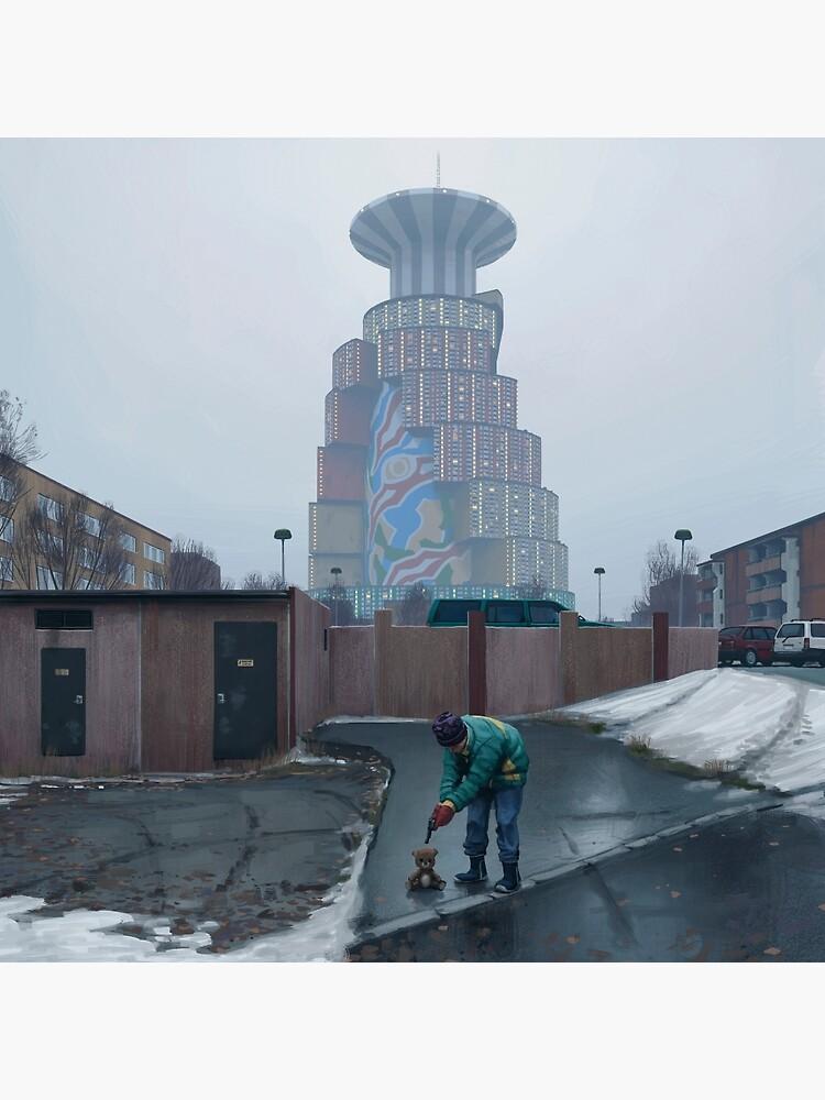 Den Ryska Nallen by simonstalenhag
