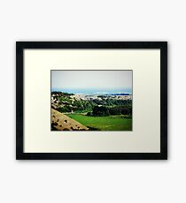 Tower Hill inactive Volcano-Warrnambool - Vic. Australia Framed Print