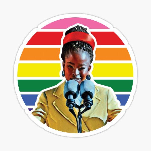 Amanda Gorman Sticker