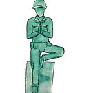 Toy soldier yoga by vodkavuttion