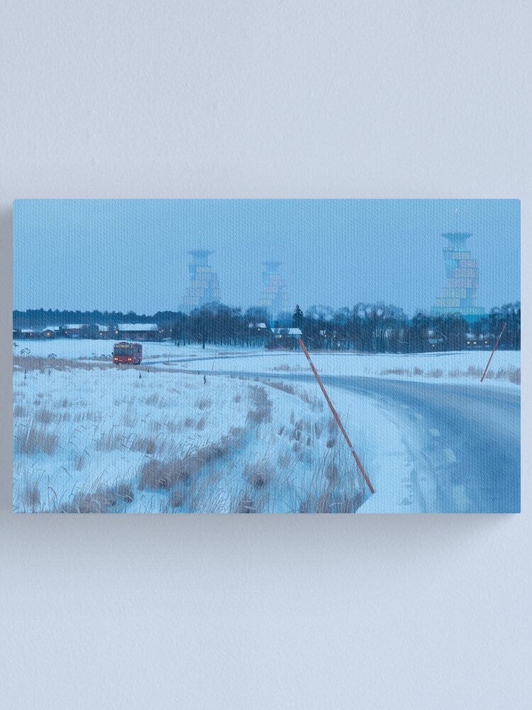 Alternate view of Every Morning Canvas Print