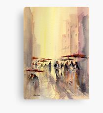 Side Street Cafe Canvas Print