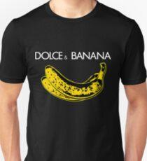 Dolce & Banana - Bananen Liebhaber Fruitaries Vegan Fashion Tee / Aufkleber Slim Fit T-Shirt
