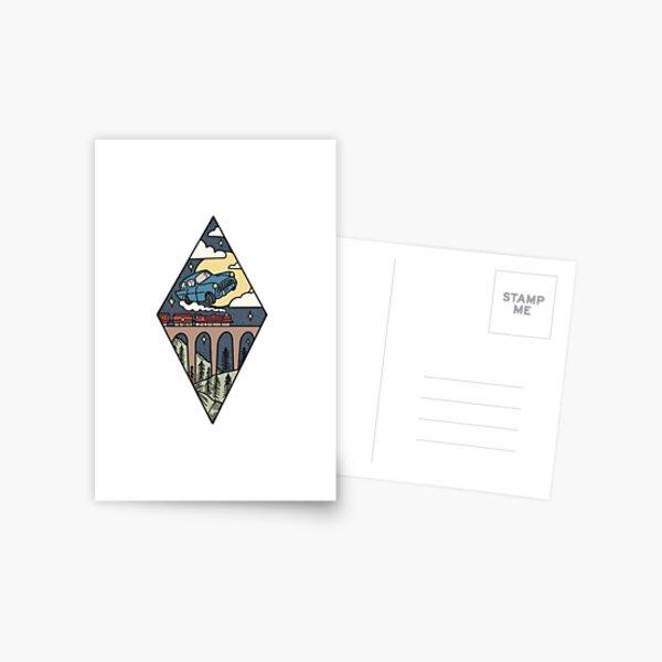 Transport magique Carte postale