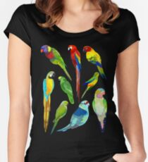 Parrots Women's Fitted Scoop T-Shirt