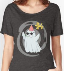 Party Ghost Women's Relaxed Fit T-Shirt