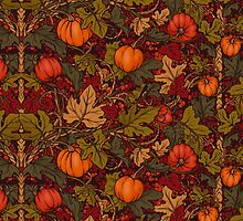 Autumn Pumpkins by juliacoalrye