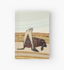 sea lion Hardcover Journal