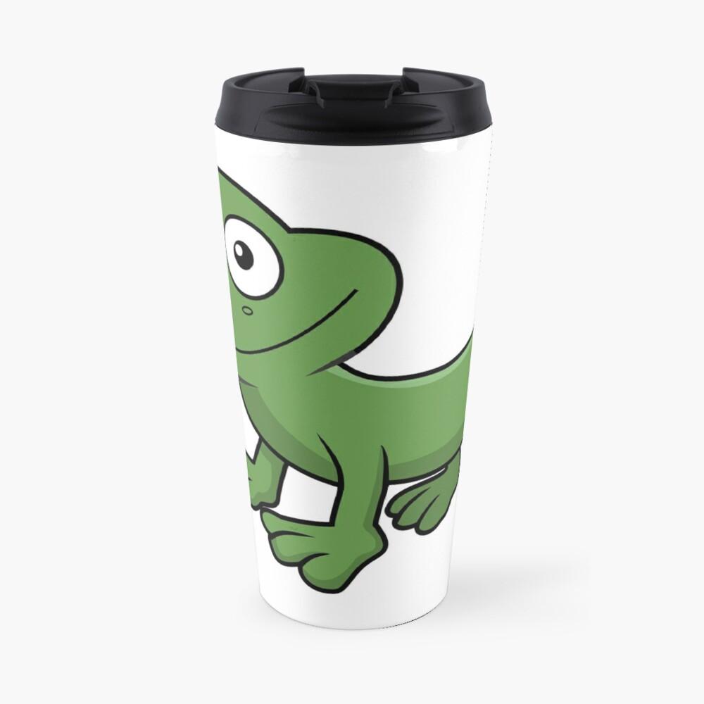 Sausage Frog Travel Mug