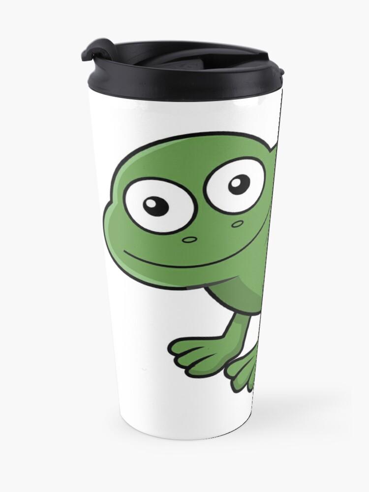 Alternate view of Sausage Frog Travel Mug