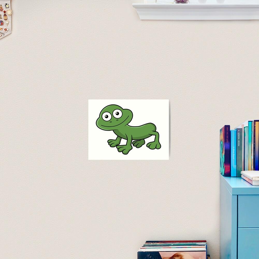 Sausage Frog Art Print