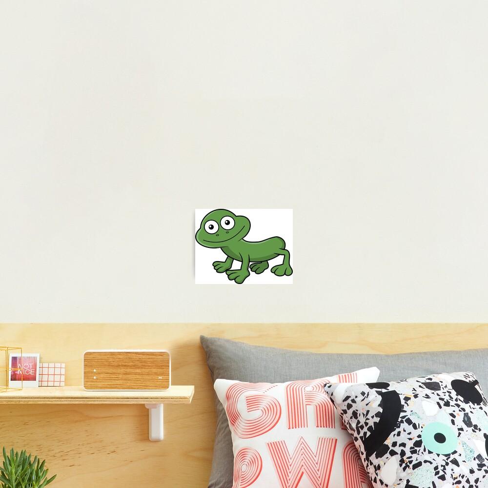 Sausage Frog Photographic Print