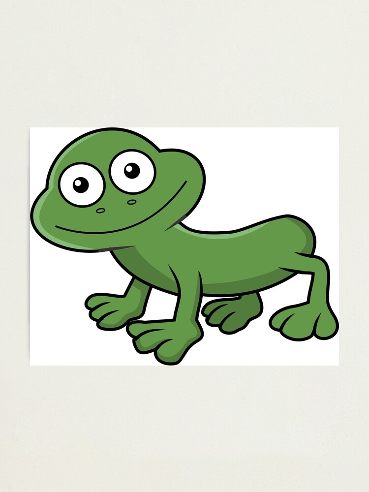 Alternate view of Sausage Frog Photographic Print