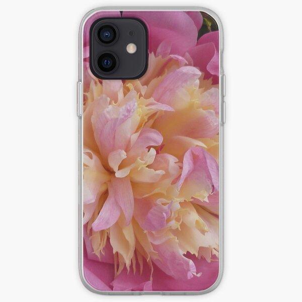 Peony iPhone Soft Case