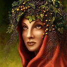 « Keeper of the wood - nature goddess » par Britta Glodde