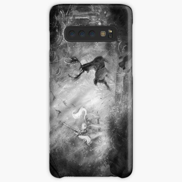 Deer Vs Unicorn Samsung Galaxy Snap Case