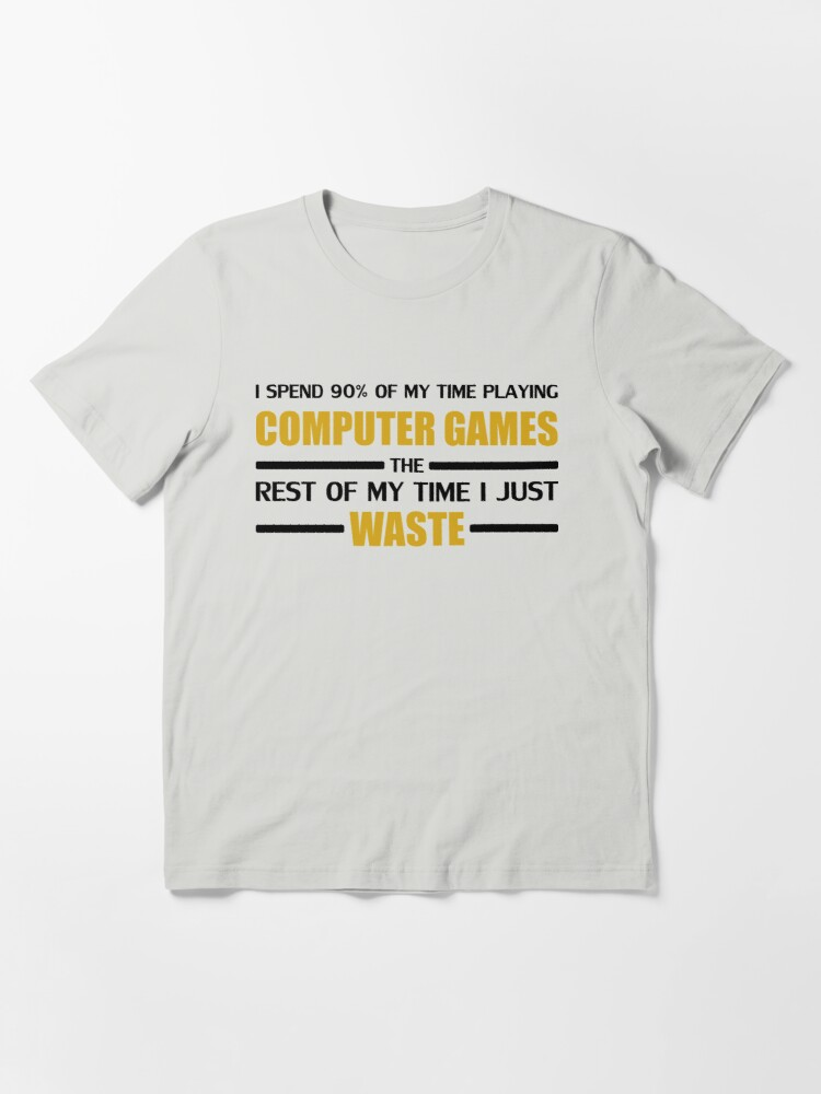 Alternate view of Computer Gaming Essential T-Shirt