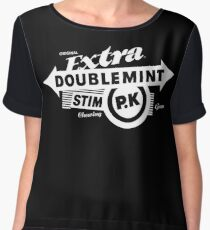 CHEWING GUM Women's Chiffon Top