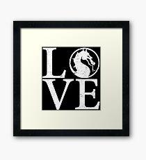 Mortal Love Framed Print