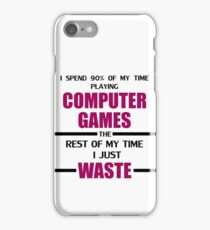 Computer Gaming iPhone Case/Skin