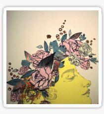 Flora and her Kartinkamqass Sticker