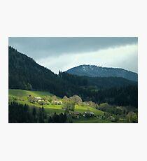 Alps Photographic Print