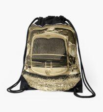Old Ford - Sepia Drawstring Bag