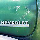 Old Chevrolet Badge by Sophia Covington