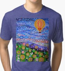 Balloon on a Summers Day Tri-blend T-Shirt