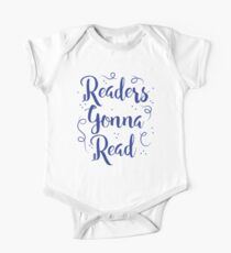 Readers Gonna Read (in brush script) Kids Clothes