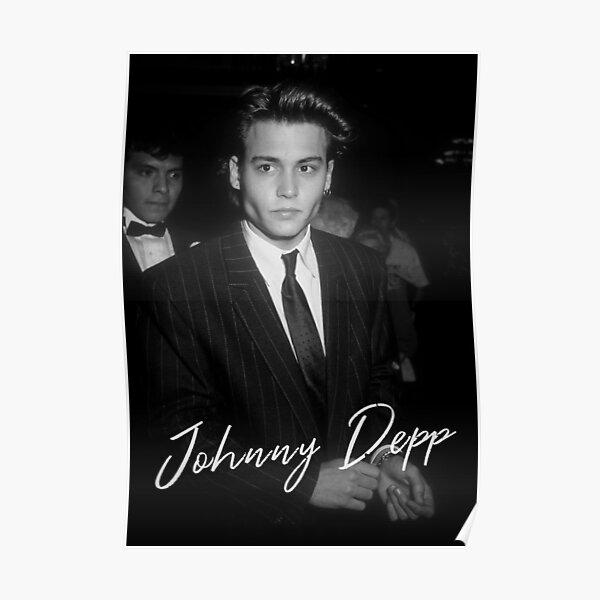 Johnny Depp junge 90er Poster