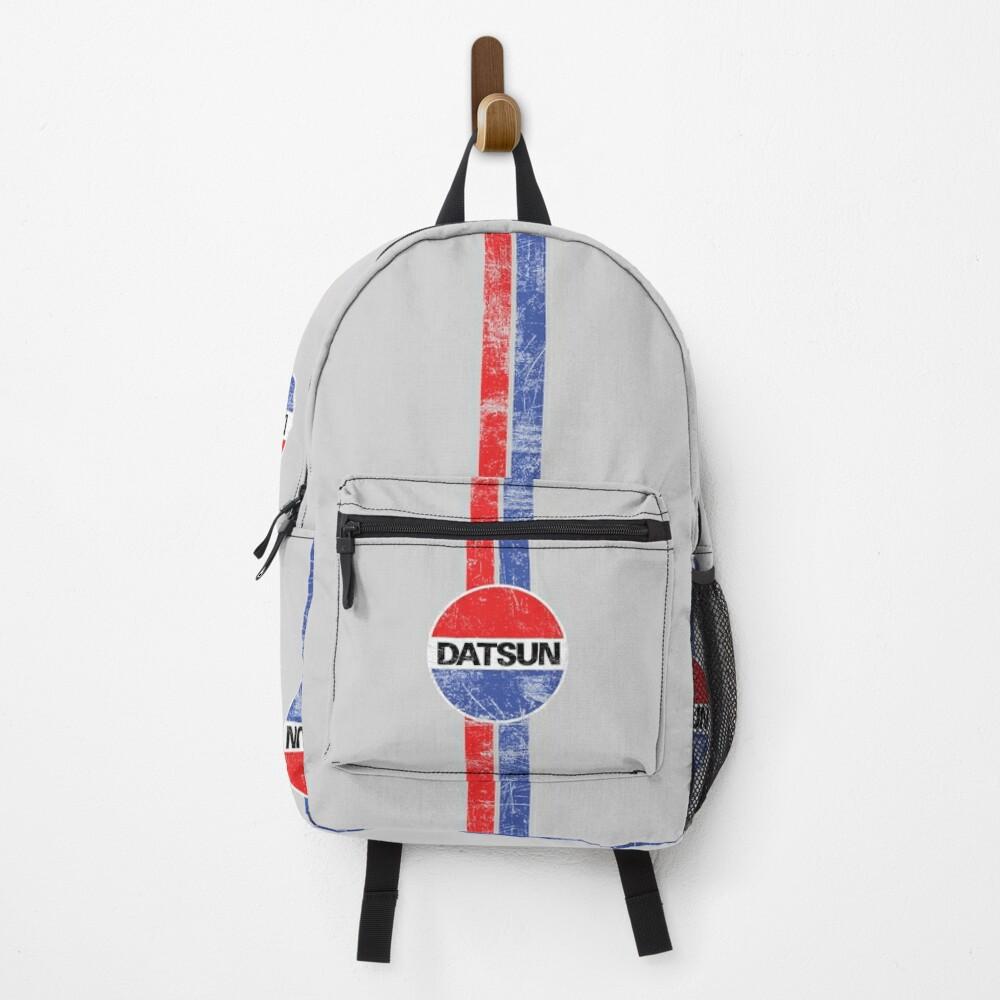 Distressed Datsun Racing Backpack