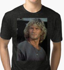 Patrick Swayze Tri-blend T-Shirt