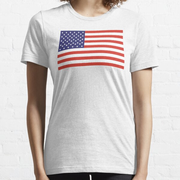American Flag. Stars and Stripes, Pure and Simple, America, USA. Essential T-Shirt