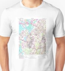 USGS TOPO Map New Jersey NJ Caldwell 254222 1954 24000 Unisex T-Shirt