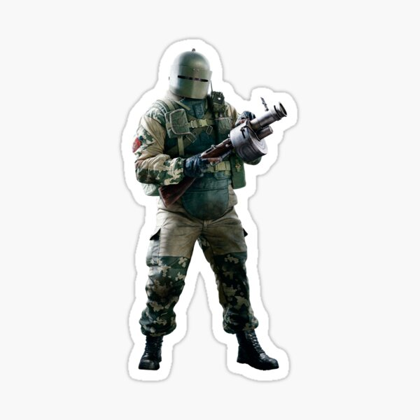 Tachanka Rainbow Six (Photo 01) Sticker