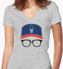 The Heater Women's Fitted V-Neck T-Shirt