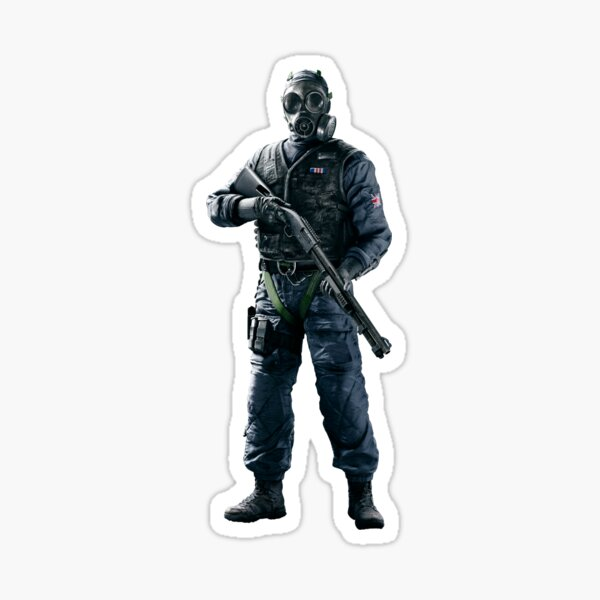 Thatcher Rainbow Six (Image 01) Sticker