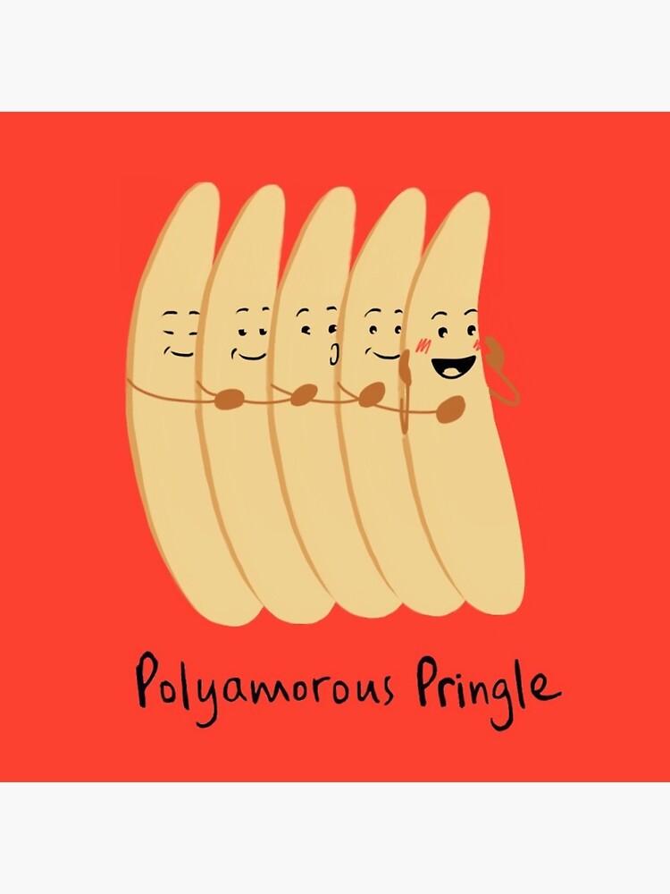 Polyamorous Pringle by polyphiliashop