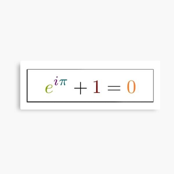 Math Metal Print
