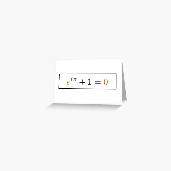 Math Greeting Card
