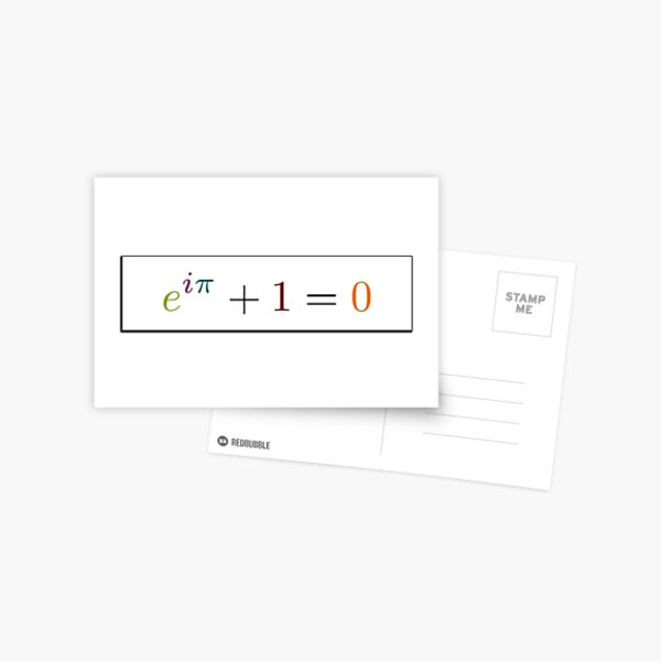 Math Postcard